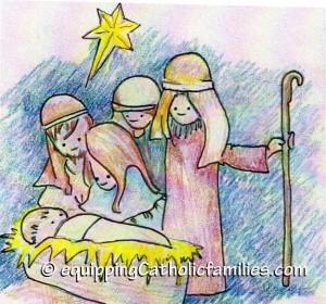 Nativity Kelly Saints