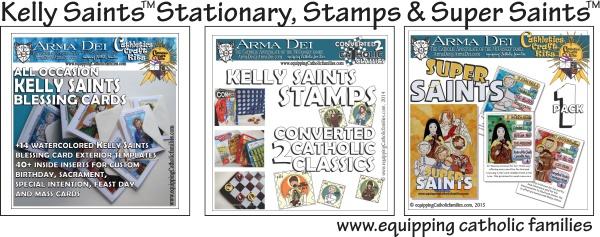 Stationary stamps Super Saints 600