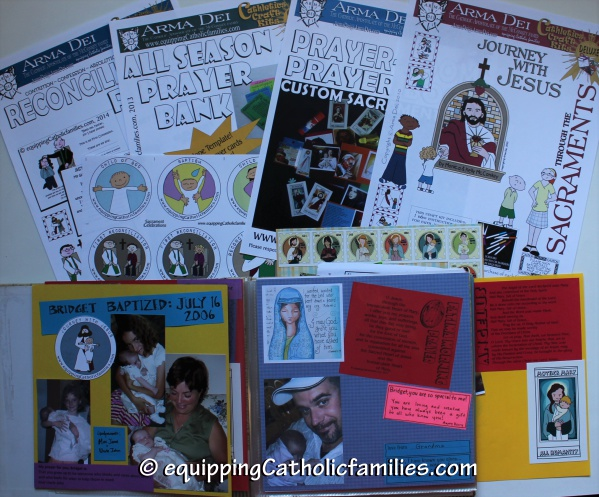 Sacrament kits for Sacrament Scrapbook