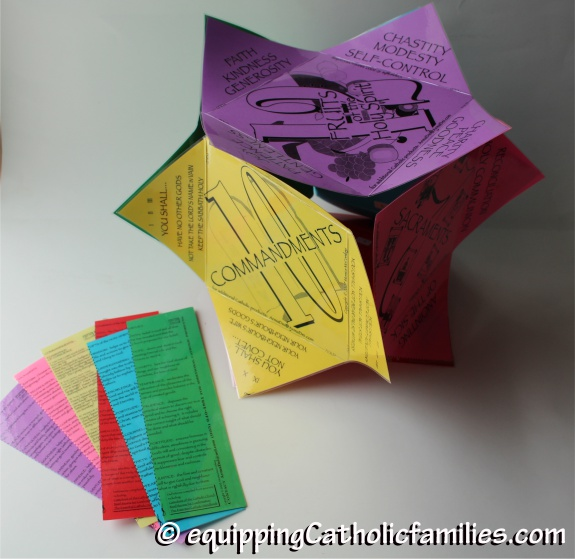 laminated Catechism Cube