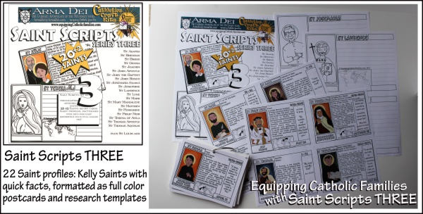 Saint Scripts Three