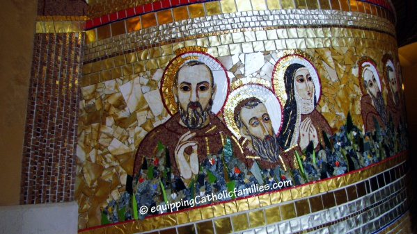 saints mosaic