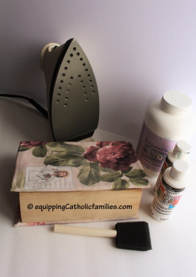 supplies for making journaling bible