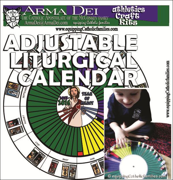 Adjustable Liturgical Calendar cover