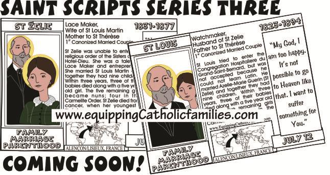 Saint Scripts St Zelie St Louis