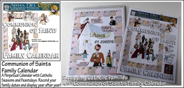 Communion of Saints Calendar