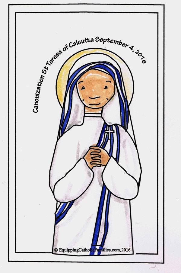 St Teresa of Calcutta Canonization