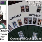 Adjustable Liturgical Calendar Craft Kit 2016-2017