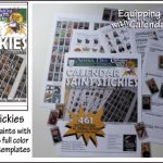 Calendar Saint Stickies Craft Kit