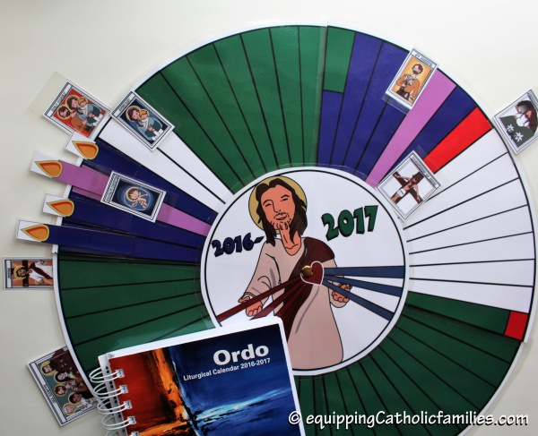 Diy Liturgical Calendar : Liturgical calendar crafts archives equipping catholic