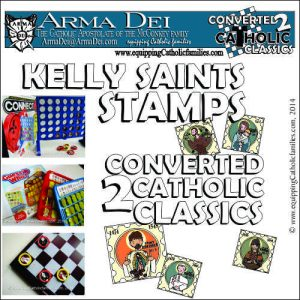 Kelly Saints Stamps ($15 PDF)