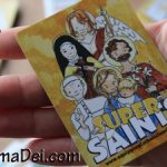 Super Saints and Spiritual Journal Stamps for Stocking Stuffers!