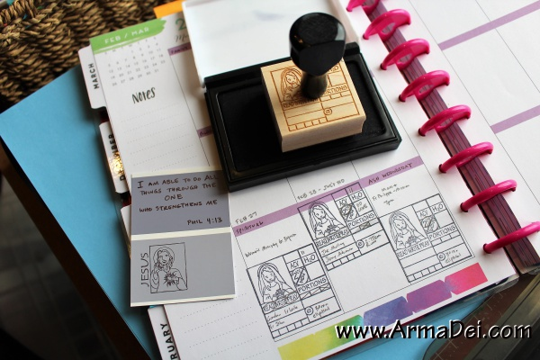 Accountability Journal Stamps