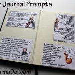 Cathletics Craft Kits: Up Close! {Prayer Journal Prompts}