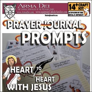 Prayer Journal Prompts Craft Kit