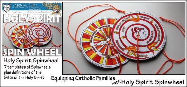 Holy Spirit Spinwheel