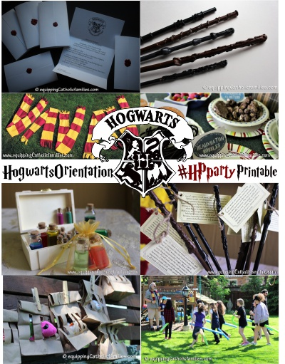 photograph about Hogwarts Printable identify HPparty : Our 11yr-olds Hogwarts Orientation Get together in addition