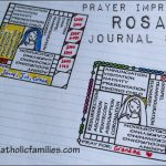 NEW! Rosary Journal Stamps!