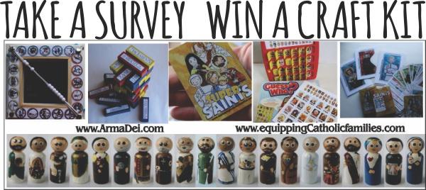 Take a Survey Win a Craft Kit