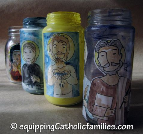Saints Votive Candles