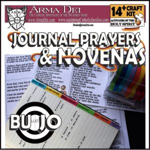 Journal Prayers and Novenas Craft Kit
