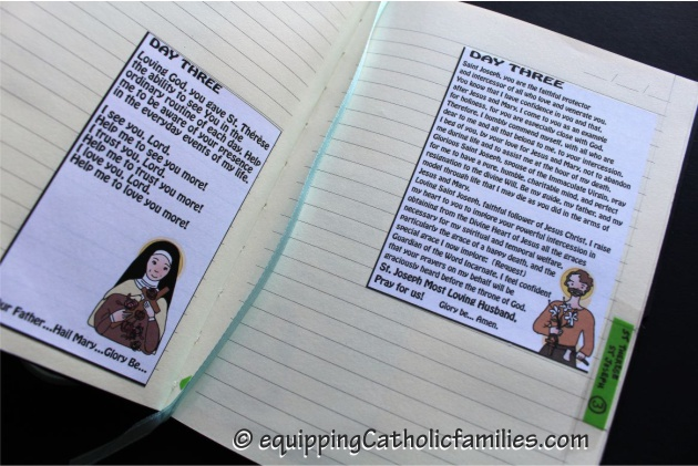 Catholic Prayer Journal Novena Day 3