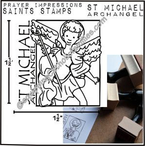 St Michael Journal Stamp