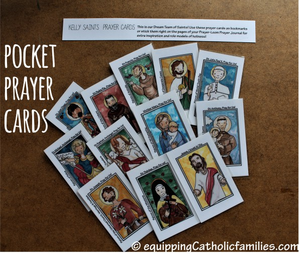 Pocket Prayer Cards