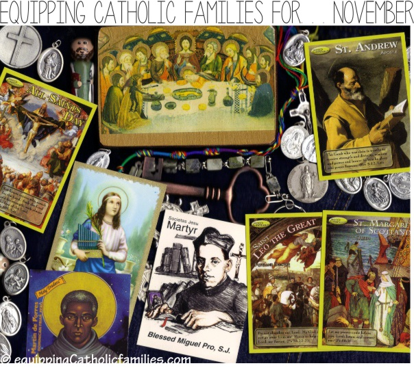 November Saints I Spy