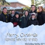 Merry Christmas from the McConkey family
