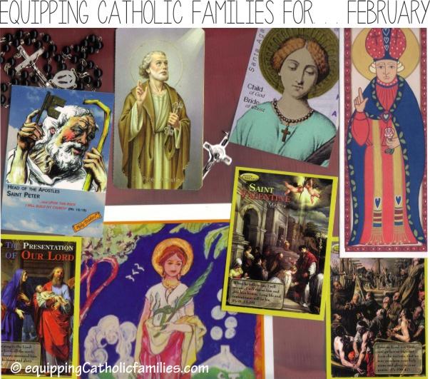 February Saints