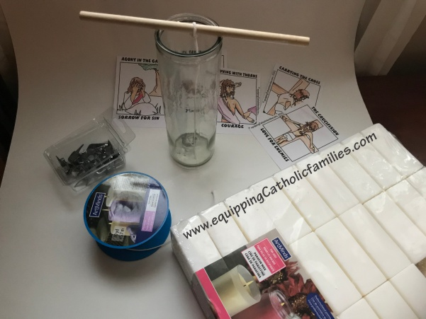 Diy Liturgical Calendar : Diy lent votive candles equipping catholic families