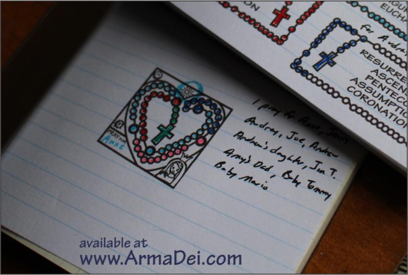 Rosary Stamp
