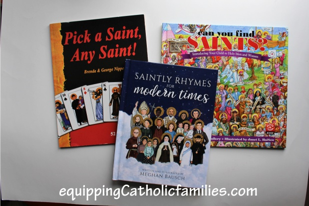 fun saints books