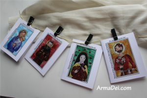 Saints Blessing Cards