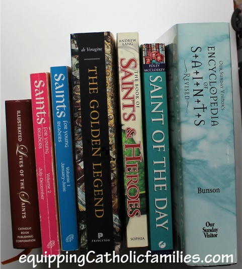 saints books for research