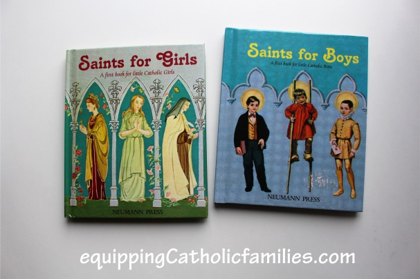 saints for girls and boys