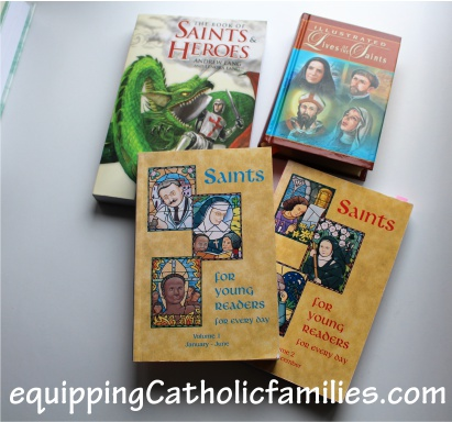 saints books for research early readers