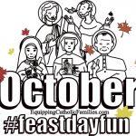 October Feast Day Fun!