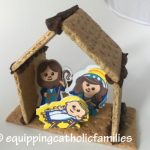 Easy Graham Cracker Nativity