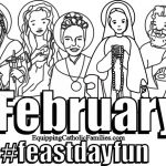 Feast Day Fun: February