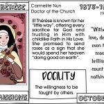 Lent: Saints & Virtue: Week THREE