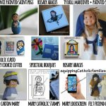 Equipping Catholic Families with Mary Crafts for the Month of May!