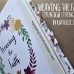 Weaving the Faith Liturgical Living Book by Catholic Icing {Review}