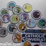 Cathletics Craft Kits: Up Close! {Catholic Conversation Pieces with Saints and Sacraments}